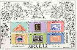 Anguilla 1979 Rowland Hill perf m/sheet unmounted mint, SG MS 364