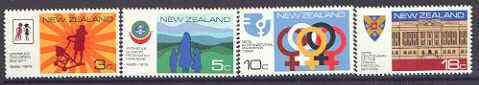 New Zealand 1975 Anniversaries and Events set of 4 unmounted mint, SG 1065-68