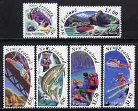 New Zealand 1994 Tourism set of 6 unmounted mint SG 1777-82