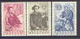 Belgium 1960 World Refugee Year set of 3 unmounted mint, SG 1716-18*