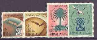 Somalia 1960 World Refugee Year set of 4 unmounted mint, SG 349-52*