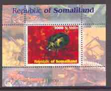 Somaliland 1999 Insects perf souvenir sheet unmounted mint