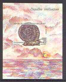 Madagascar 1993 Molluscs m/sheet unmounted mint, SG MS 1117