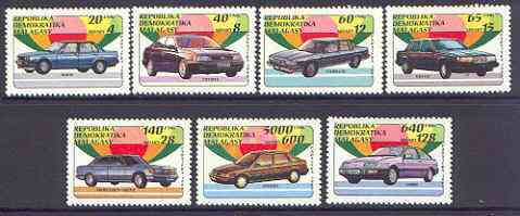 Madagascar 1993 Cars perf set of 7 unmounted mint  SG 947-53*