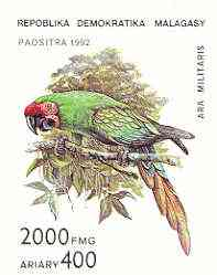 Madagascar 1993 Parrot Family perf m/sheet unmounted mint SG MS 962