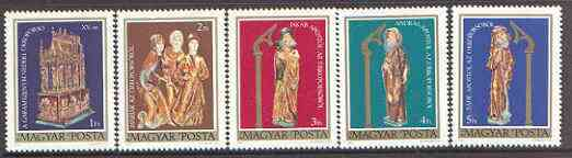 Hungary 1980 Easter Sepulchre set of 5 unmounted mint, SG 3310-14*