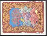 Somalia 1998 Marine Life (Corals) perf m/sheet unmounted mint