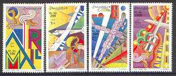 Somalia 1999 Air Mail perf set of 4 unmounted mint*