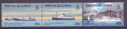 Tristan da Cunha 1993 30th Anniversary of Resettlement set of 3 unmounted mint SG 546-48