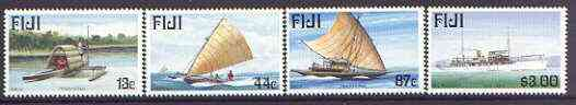 Fiji 1998 Maritime Past & Present (1st series) set of 4 unmounted mint, SG 1031-34