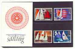 Great Britain 1975 Sailing set of 4 in official presentation pack
