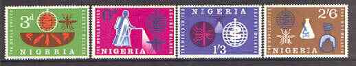 Nigeria 1962 Malaria Eradication perf set of 4 unmounted mint, SG 116-19
