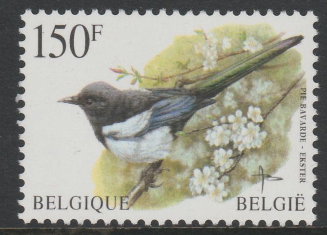 Belgium 1996-99 Birds #3 Magpie 150f unmounted mint, SG 3316