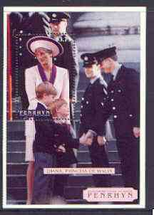 Cook Islands - Penrhyn 1998 Diana, Princess of Wales Commemoration m/sheet unmounted mint, SG 526