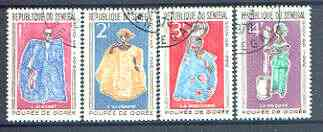 Senegal 1966 Goree Puppets set of 4 superb used, SG 315-18*