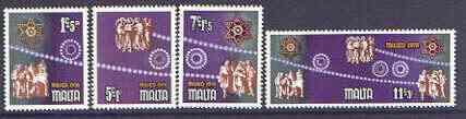 Malta 1978 Christmas set of 4 unmounted mint SG 611-614