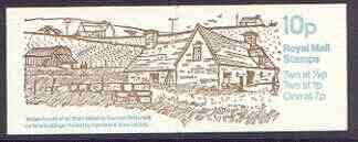 Booklet - Great Britain 1978-79 Farm Buildings #4 (Wales) 10p booklet complete, SG FA7