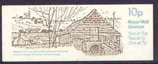Booklet - Great Britain 1978-79 Farm Buildings #6 (Sussex) 10p booklet complete, SG FA9