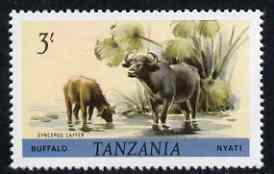 Tanzania 1980 Buffalo 3s (from Animals def set) unmounted mint SG 316*