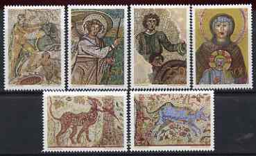 Yugoslavia 1970 Mosaics set of 6 unmounted mint, SG 1415-20