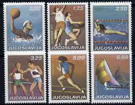 Yugoslavia 1972 Munich Olympic Games set of 6 unmounted mint, SG 1507-12*