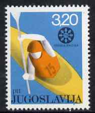 Yugoslavia 1975 World Canoeing Championships unmounted mint, SG 1692*