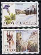 Yugoslavia 1983 Nature Protection set of 2 unmounted mint, SG 2090-91