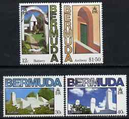 Bermuda 1985 Bermuda Architecture set of 4 unmounted mint, SG 486-89