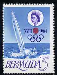 Bermuda 1964 Tokyo Olympic Games unmounted mint, SG 183