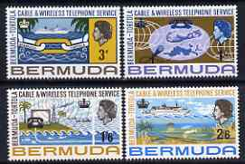 Bermuda 1967 Telephone Service set of 4 unmounted mint, SG 208-11