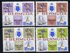 Bermuda 1968 Mexico Olympic Games set of 4 unmounted mint, SG 220-23