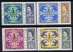 Bermuda 1968 Human Rights Year set of 4 unmounted mint, SG 212-15, stamps on human rights