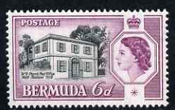 Bermuda 1959 Perot's Post Office 6d unmounted mint, SG 156