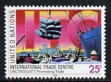 United Nations (NY) 1990 International Trade Centre unmounted mint, SG 581