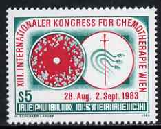 Austria 1983 Chemotherapy Congress 5s unmounted mint, SG 1972