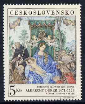 Czechoslovakia 1968 'Praga 68' Stamp Exhibition (6th issue - painting by Durer) unmounted mint SG 1756
