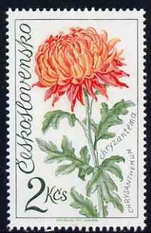 Czechoslovakia 1973 Chrysanthemum 2k (from Flower Show set) unmounted mint, SG 2114