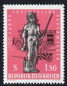 Austria 1963 Voluntary Fire Brigade unmounted mint, SG 1396