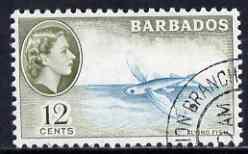 Barbados 1965 Flying Fish 65c (wmk block CA) very fine used, SG 315*