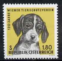 Austria 1966 Animal Protection Society unmounted mint, SG 1470, Mi 1208*