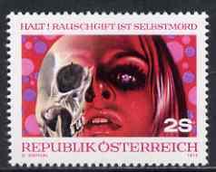 Austria 1973 Campaign Against Drug Abuse unmounted mint, SG 1654, Mi 1411*
