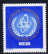 Austria 1977 Atomic Energy Agency unmounted mint, SG 1785, Mi 1548*