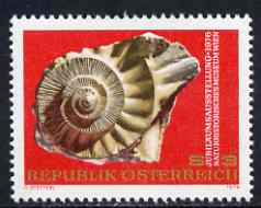 Austria 1976 Natural History Museum (Fossil) unmounted mint SG 1757, Mi 1510*