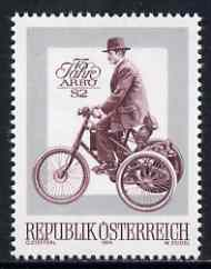 Austria 1974 Association of Motor Cycling unmounted mint, SG 1704, Mi 1451*