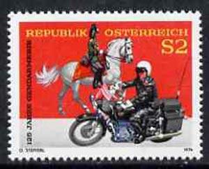 Austria 1974 Anniversary of Austrian Gendarmerie unmounted mint, SG 1708, Mi 1454*
