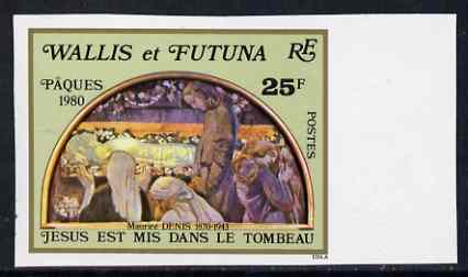 Wallis & Futuna 1981 Christmas (Crib) imperf from limited printing unmounted mint, SG 388*