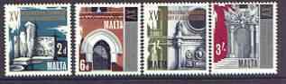 Malta 1967 Historical Architecture Congress set of 4 unmounted mint, SG 389-92