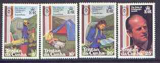 Tristan da Cunha 1981 Duke of Edinburgh Award Scheme set of 4 unmounted mint, SG 311-14