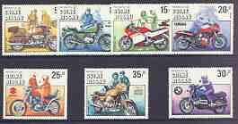 Guinea - Bissau 1985 Centenary of Motorcycle perf set of 7 unmounted mint, SG 912-18
