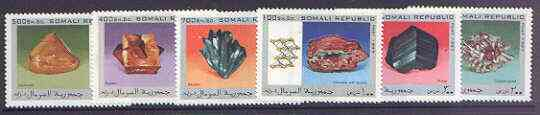 Somalia 1997 Minerals complete perf set of 6 values, unmounted mint
